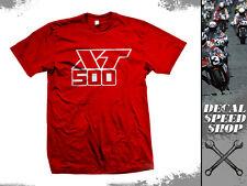 Tshirt Yamaha XT500 retro Scrambler