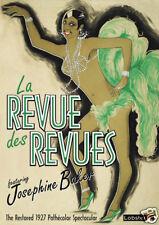 La revue des revues Josephine Baker 1927 movie poster print