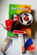 50mm Heavy Duty Metal Packing Packaging Tape Roll Hand Dispenser Gun 48mm