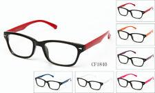 Clear Lens Glasses Nerd Geek Fake Eyewear Men Women Hipster Frame Fashion