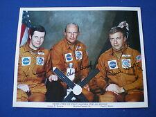Vintage NASA 1st Skylab Crew Autopen Signed  Colour 10 x 8   1973