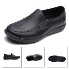 Mens Chef Kitchen Cook Shoes Restaurant Waterproof Oil Resistant Non-Slip Shoes