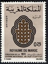 YT 630  MAROC Timbre Neuf ** TTB  CREATION DE LA LOTERIE NATIONALE 1972