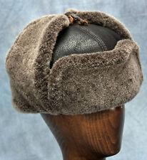 NEW Russian Hat (Brown Dark) - 100% Sheepskin by Northern Hats (SKU: 19K-BRN)
