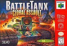 ***BATTLETANX GLOBAL ASSAULT N64 NINTENDO 64 GAME COSMETIC WEAR~~~