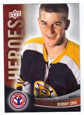 11-12 Upper Deck UD Bobby Orr Heroes #12 NHCD National Hockey Card Day Bruins