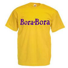 Bora Bora Ibiza Adults Mens T Shirt 12 Colours  Size S - 3XL