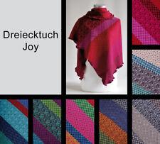 Dreiecktuch Joy aus 100 % Merinowolle vom Modelabel invero - Made in Germany