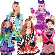 Alice En Wonderland Chicas Fancy Dress Día Mundial del Libro Niños Adolescentes De Cuento De Hadas Disfraz