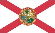 FLORIDA STATE FLAG GLOSSY POSTER PICTURE PHOTO miami jacksonville orlando fl 933