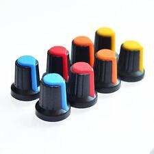 10PCS Gesicht Plastik für Rotary Taper Potentiometer Loch 6mm Knopf RA