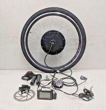 "2in1 E-Bike kit di conversione 36V/48V/60V 250w - 1500w 26""/27.5""/700c/29ER ruota."