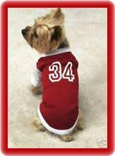 XLarge Dog Shirt Baseball Jersey Weimarana Doberman Dog Shirts Pet Clothes