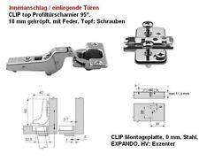 Blum CLIP Profiltür Scharnier 95° Innenanschlag 71T9750
