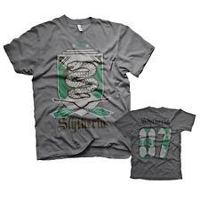 Harry Potter Slytherin Haus Wappen Crest #07 Quidditch Team Männer Men T-Shirt