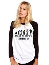 EVOLUTION tornare ci avvitata tutto da Donna Baseball Top