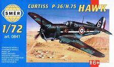 CURTISS H 75 A3 /P 36 HAWK (ARMEE DE L'AIR/FRENCH AF & USAAF MARKINGS) 1/72 SMER