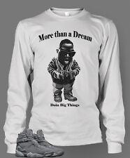 T Shirt to Match Retro Air Jordan 8 Cool Gray Shoe Men Doin Big Things Pro Club