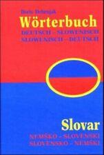 Wörterbuch Slowenisch-Deutsch /Deutsch-Slowenisch /Slovar Slovensko-nemski  ...