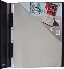 Acco Hetzel Sichtbuch Claro Din A3 schwarz mit 12 Klarsichthüllen