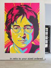 John lennon beatles Art Print Canvas Painting street Australia pop peace