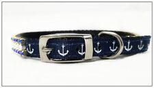 ~ Anchors Away - Free Charm! ~ Diamond Crystal Rhinestone Dog Collar