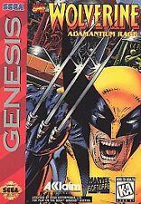 WOLVERINE ADAMANTIUM RAGE SEGA GENESIS GAME NES HQ