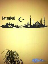 Wandtattoo SKYLINE ISTANBUL Türkei Wohnzimmer Wandaufkleber