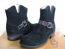 Ugg Milnor Black Ankle Boots Women