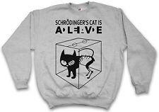 SCHRÖDINGER?S CAT IS ALIVE DEAD I SWEATSHIRT PULLOVER The Big Katze Bang Theory