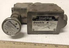 Double A - Circuit Stak Hydraulic Fluid Pressure Regulating Valve - #WAP-01-10B1