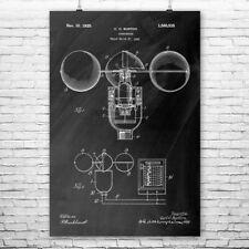 Anemometer Poster Print Classroom Decor Meteorologist Gift Meteorology Art