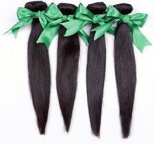 Straight Hair100% Real Malaysian/Brazilian/Peruvian Virgin Human Hair Weave 1pac