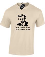Dan, Dan, dan Mens t-shirt Funny Alan Partridge cita impreso atrás de la red