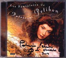 Patricia PETIBON Signed LES FANTAISIES Barber Bernstein Caldara Handel Rameau CD