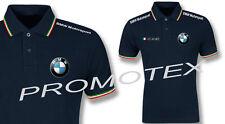 polo BMW MOTORSPORT SERIE M LOGO RICAMATO italia racing maglietta corse