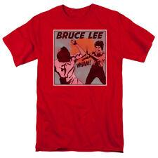 Bruce Lee Comic Panel T-shirts & Tanks for Men Women or Kids