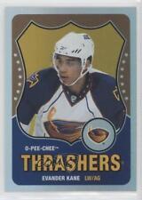 2010-11 O-Pee-Chee Rainbow Retro #328 Evander Kane Atlanta Thrashers Hockey Card