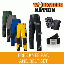 Dickies Pro Travail Genou Pad Pantalon DP1000-Gratuit Genou Pad & Ceinture Set