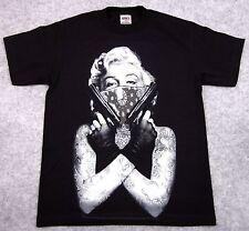 MARILYN MONROE T-shirt Tattoo Bandit Tee Guns Bandana Adult 2XL New