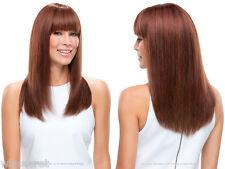 Medium Len Premium Remy Human Hair Monofilament Hand Tied Lea by Jon Renau Wigs