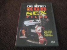 THE SECRET KGB SEX FILES DVD ROGER MOORE