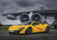 McLaren P1 Super Car Large Poster Wall Art Print Size A4 A2 A1 A0 aircraft