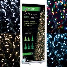 1000 LED MULTI-ACCIÓN Árbol Brillo Luces - Blanco Cálido Azul Multicolor o