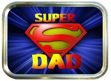 Super Dad 2oz Gold Tobacco Tin,Sweet Can,Storage Box .Pocket Tin