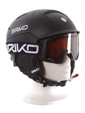 """Skihelm,Snowboardhelm, Briko """"Mongibello"""" matt schwarz, Größenwahl + Brillenwahl"""