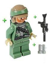 LEGO STAR WARS - REBEL COMMANDO BEARD FIGURE - FAST + GIFT - 10236 - 2013 - NEW