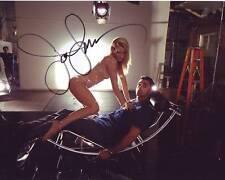 JOHN STAMOS Signed w/ HEATHER MORRIS GLEE Photo w/ Hologram COA