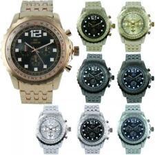 Prince London metal wristwatch up to 21cm wide strap 7049 decorative dials