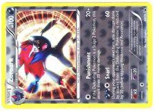 JUMBO POKEMON CARD HYPER 3-D #BW19 - ZOROARK 100 HP -